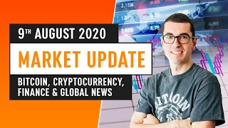 Bitcoin, Cryptocurrency, Finance & Global News - August 9th 2020