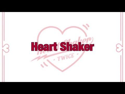Twice Heart Shaker 日本語訳 韓国語 ルビ Youtube