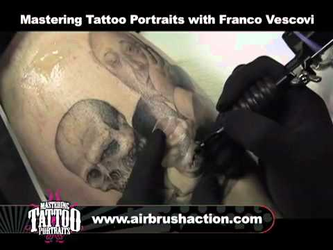 Mastering Tattoo Portraits with Franco Vescovi 180 Minute DVD - buy at PainfulPleasures.com