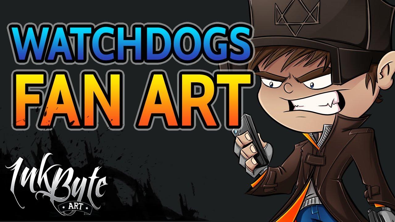 Watch Dogs Fan Art Aiden Pearce Youtube
