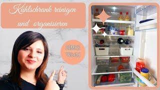 Kühlschrank reinigen und Organisieren|Küchenorganisation|Fridge Organization