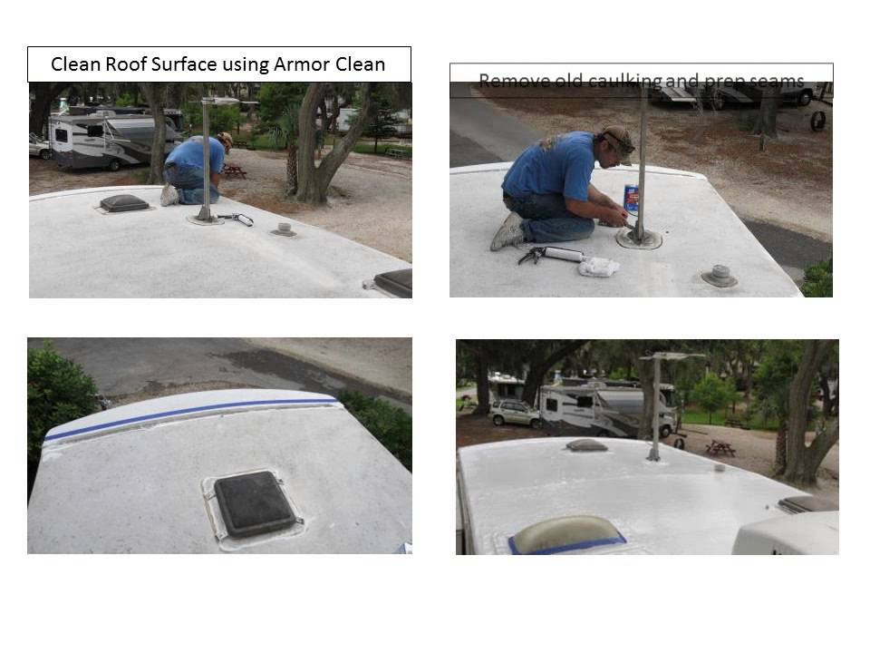 Rv Roof Armor The Final Rv Roof Youtube