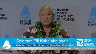 Our Blue Parks Legacy: The Next 100 Years of the Great Outdoors - Capitol Hill Ocean Week 2016