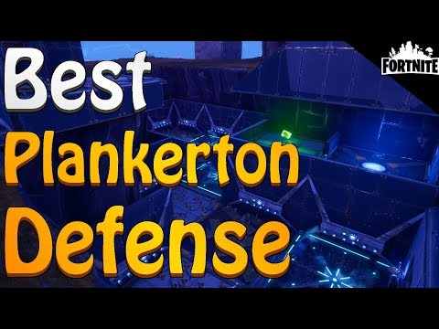 FORTNITE - Plankerton Storm Shield Defense 10 Solo Without Shooting