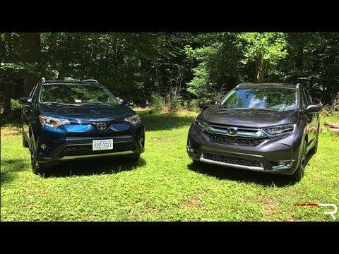 2017 Honda CR-V & Toyota RAV4 – The New Family Cars in America