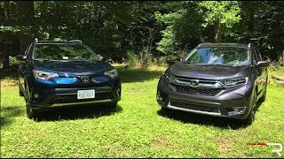 2017 Honda CR-V & Toyota RAV4 – The New Family Cars in America