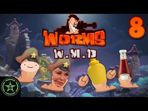 Michael Gets Cancelled  Worms W.M.D. 8  Let's Play