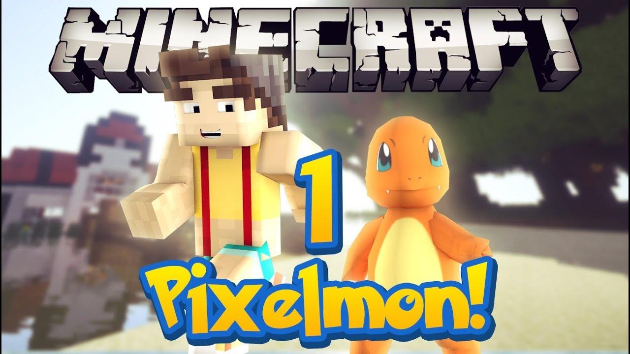 Pixelleague pixelmon server episode 1 charmander i - Pixelmon ep 1 charmander ...