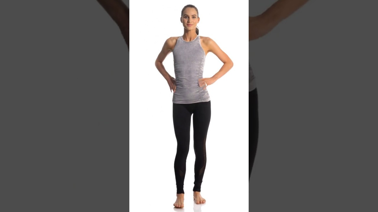 294fe695ba6cb NUX Network Seamless Yoga Leggings | SwimOutlet.com - YouTube