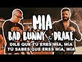 Bad Bunny Feat Drake Mia Letra Lyrics mp3