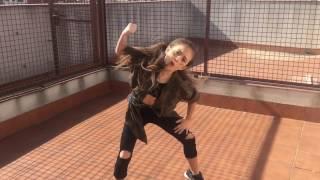 dancing alexia 7 years old kriss kross chris brown
