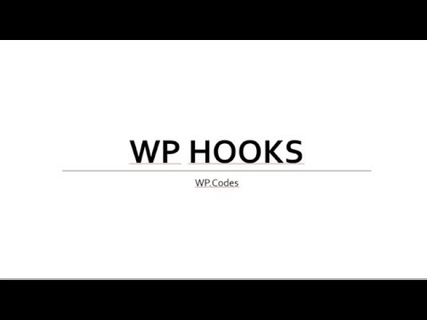WordPress Hook Part 1 (Action Hooks)