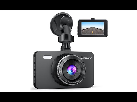 crosstour 1080p car dvr dashboard camera full hd cr300. Black Bedroom Furniture Sets. Home Design Ideas