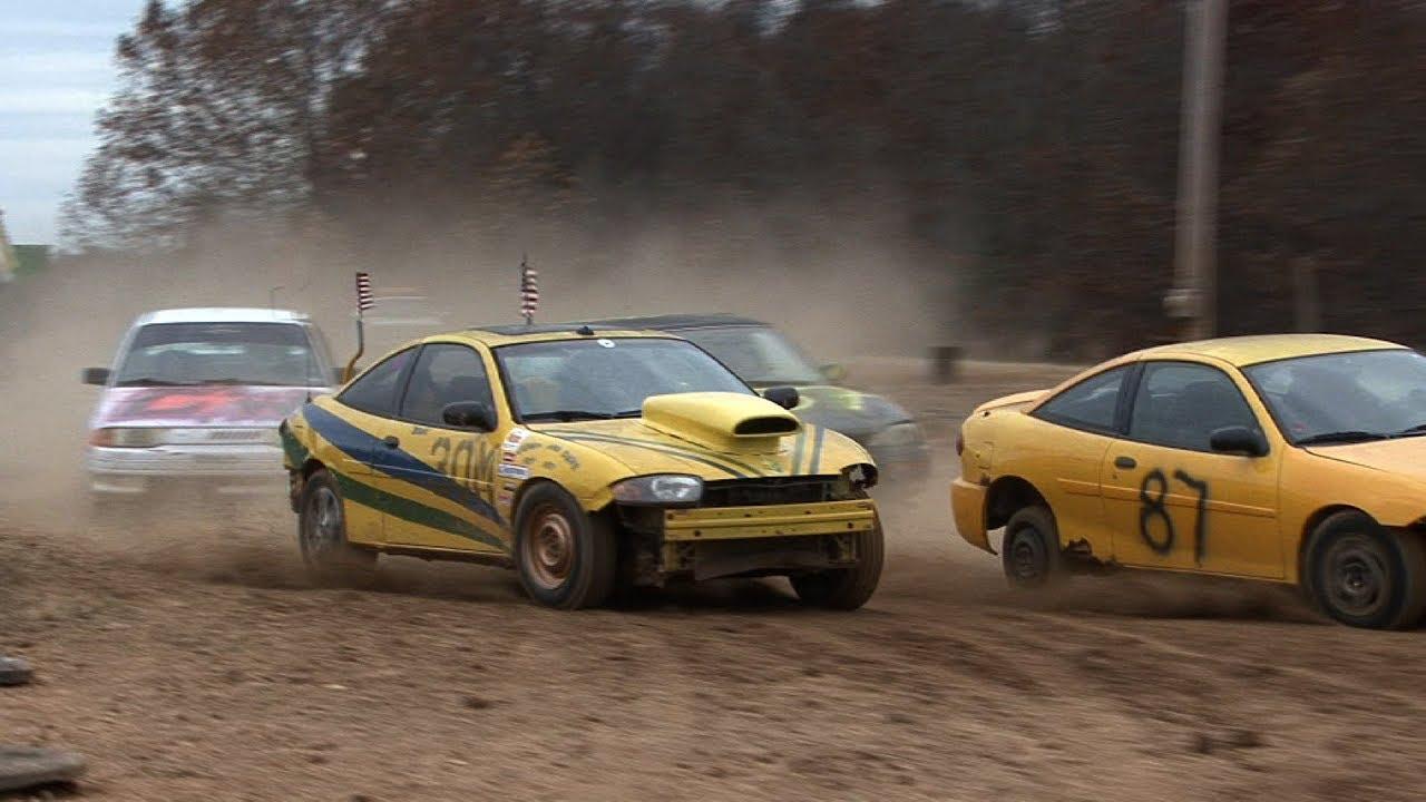 REDNECK RALLYCROSS - Racing Junk Cars for CASH - YouTube