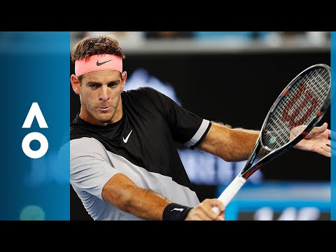 Frances Tiafoe v Juan Martin del Potro match highlights (1R)   Australian Open 2018