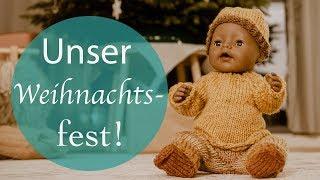 Unser Weihnachtsfest - Krippenspiel, Geschenke & ganz viel Spaß!!