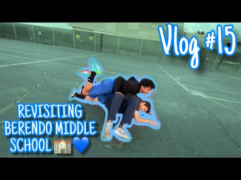 REVISITING BERENDO MIDDLE SCHOOL ????????| Vlog #15
