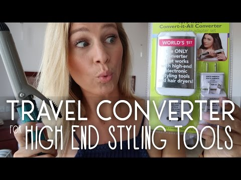 Travel Converter for High End Styling Tools