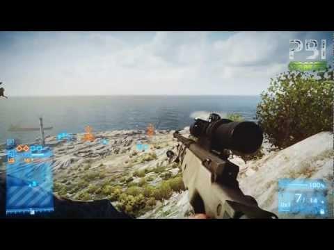 [BF3] Record Mundial de Headshot - Ep #1 - Kharg Island Conquest