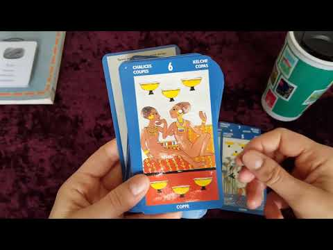 A Taste of Egypt ~ Tarot of the Sphynx / Auset Egyptian Oracle 🏺