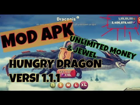 Mod Apk Hungry Dragon™ v1.11 - Unlimited Money & Jewel [Android]