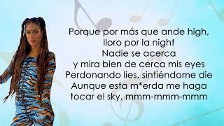 Maria Becerra, TINI, Lola Indigo - High Remix (Letra/Lyrics)