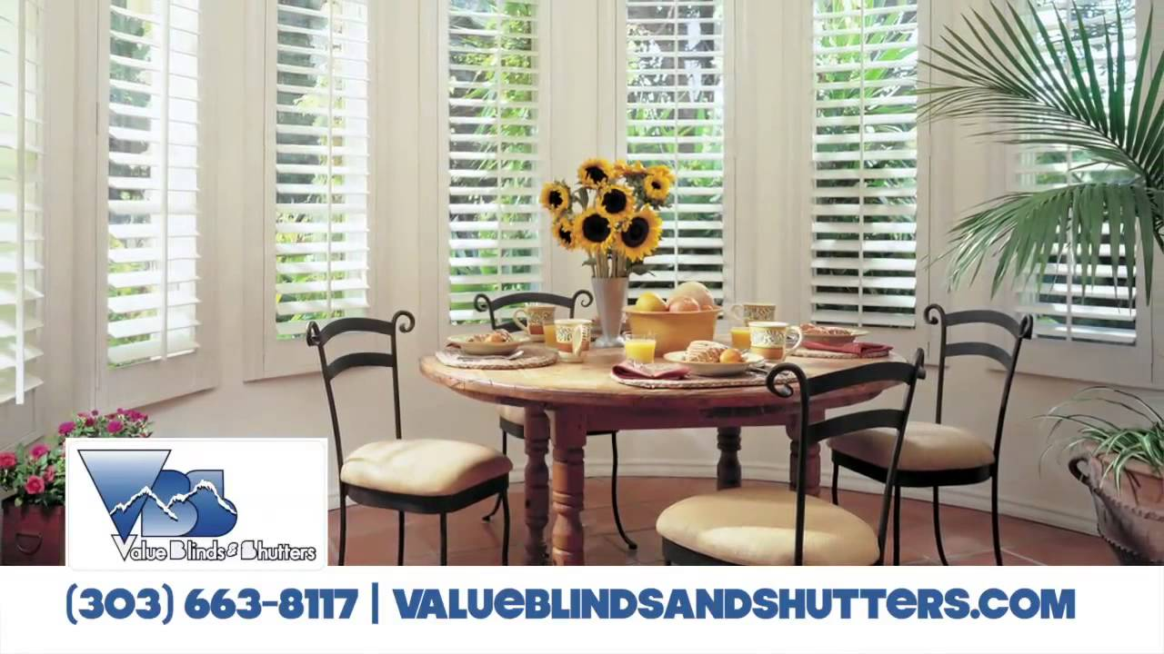 Value Blinds Shutters Castle Rock Co Shutter Retail