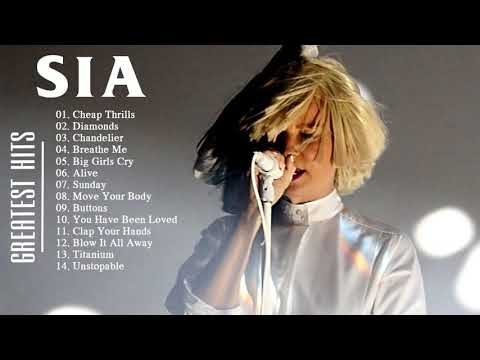 Sia Greatest Hits 2018 Collection - SIA Best Songs Live 2018