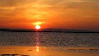 Tramonto sulla laguna di Sant