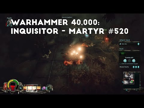 A Secrect Transit Nexus | Let's Play Warhammer 40,000: Inquisitor - Martyr #520 |