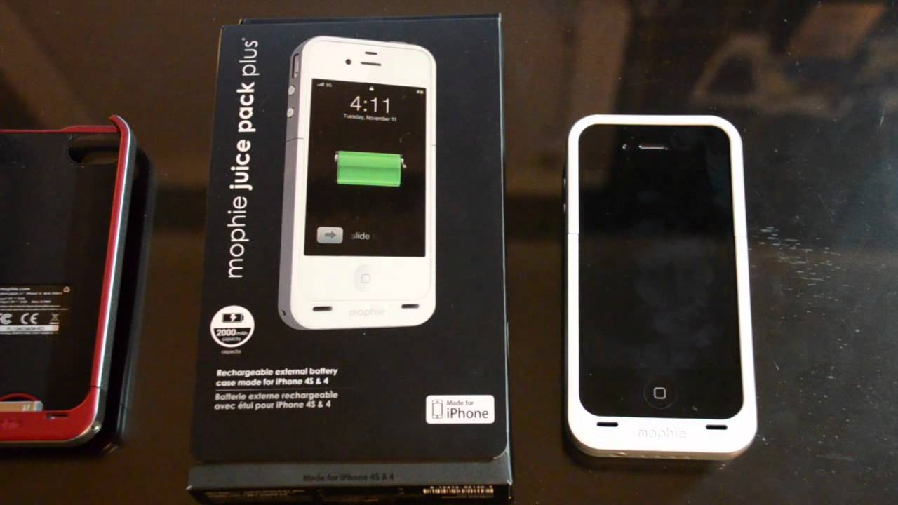 new styles ec282 a5a83 Review: Mophie Juice Pack Plus iPhone Case