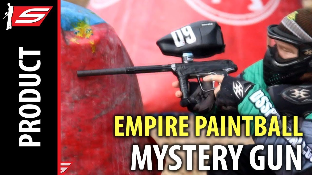Empire Vanquish, Mystery Paintball Gun - UNRELEASED FOOTAGE