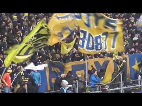 AC Reggiana-Parma FC 2016/2017 (Tifo Teste Quadre,Gruppo Vandelli,Boys Parma)