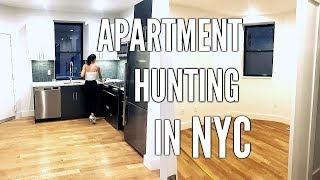 APARTMENT HUNTING IN NYC | VIEW PLACES WITH ME, WHAT YOU NEED TO KNOW, & ADVICE