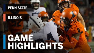 Highlights: Penn State Nittany Lions vs. Illinois Fighting Illini | Week 4