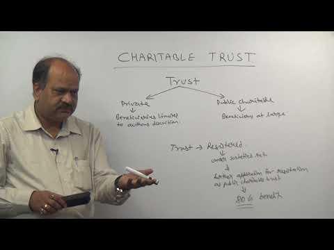 CHARITABLE  TRUST PART 1