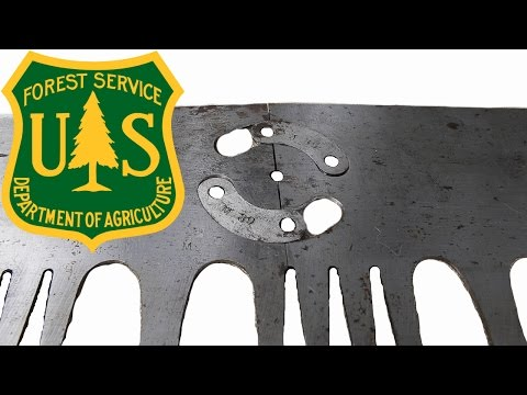 Super Rare USFS Take Down Saw
