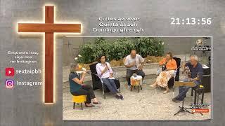 """1 Coríntios 4.1-5 """"Líderes são servos e mordomos"""" Pr. Antônio Dias 22-10-2020"""