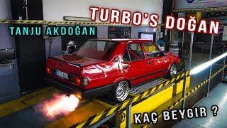 Tanju AKDOĞAN Turbo Tofaş'ı Dynoya Soktuk! Kaç HP? | HARUN TAŞTAN