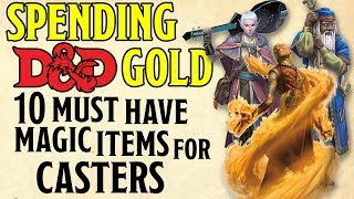 10 Best Cheap Magic Items for Casters in Dungeons and Dragons 5e