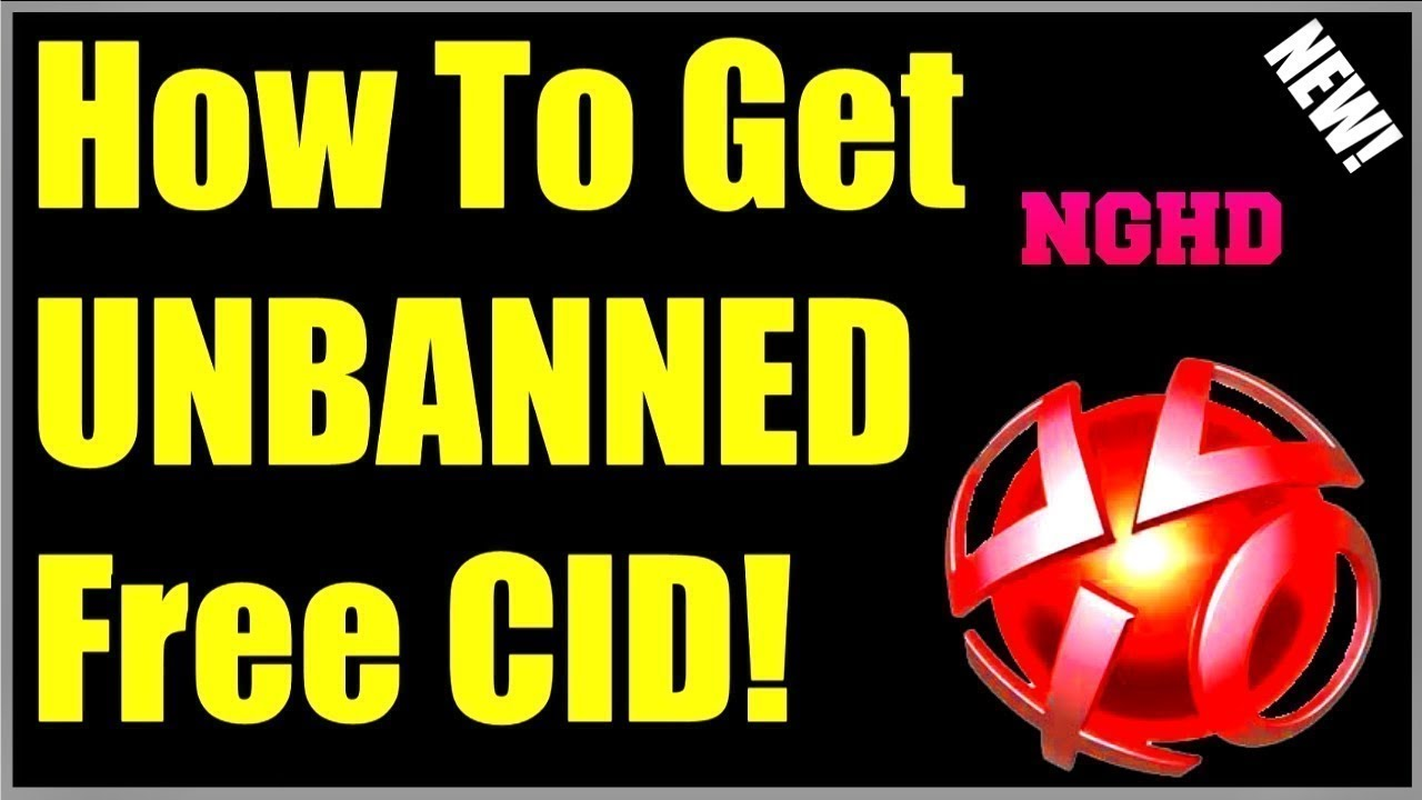 Unbanned console id ps3 2019