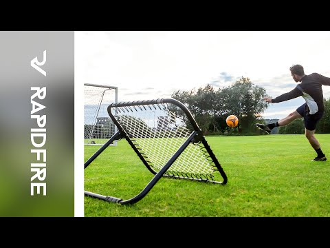 Introducing: The RapidFire Football Rebound Net | Net World Sports