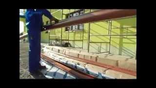 Монтаж и укладка водостоков на крышу дома(Показано, как выполнить монтаж и укладку водостоков на крышу дома своими руками. http://krovlya-kryshi.com/vodostoki.html..., 2014-10-04T15:19:29.000Z)