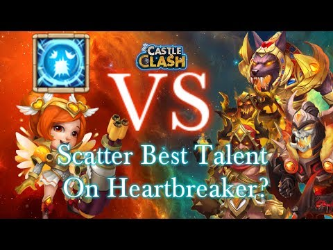 Castle Clash Scatter Best For Heartbreaker??_ Vs Anubis_SK And Grimfiend