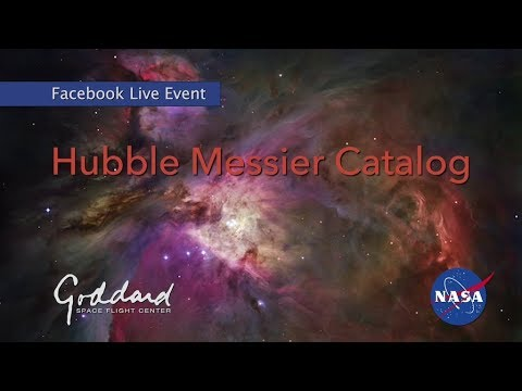 Explore the Universe with Hubble Messier Catalog