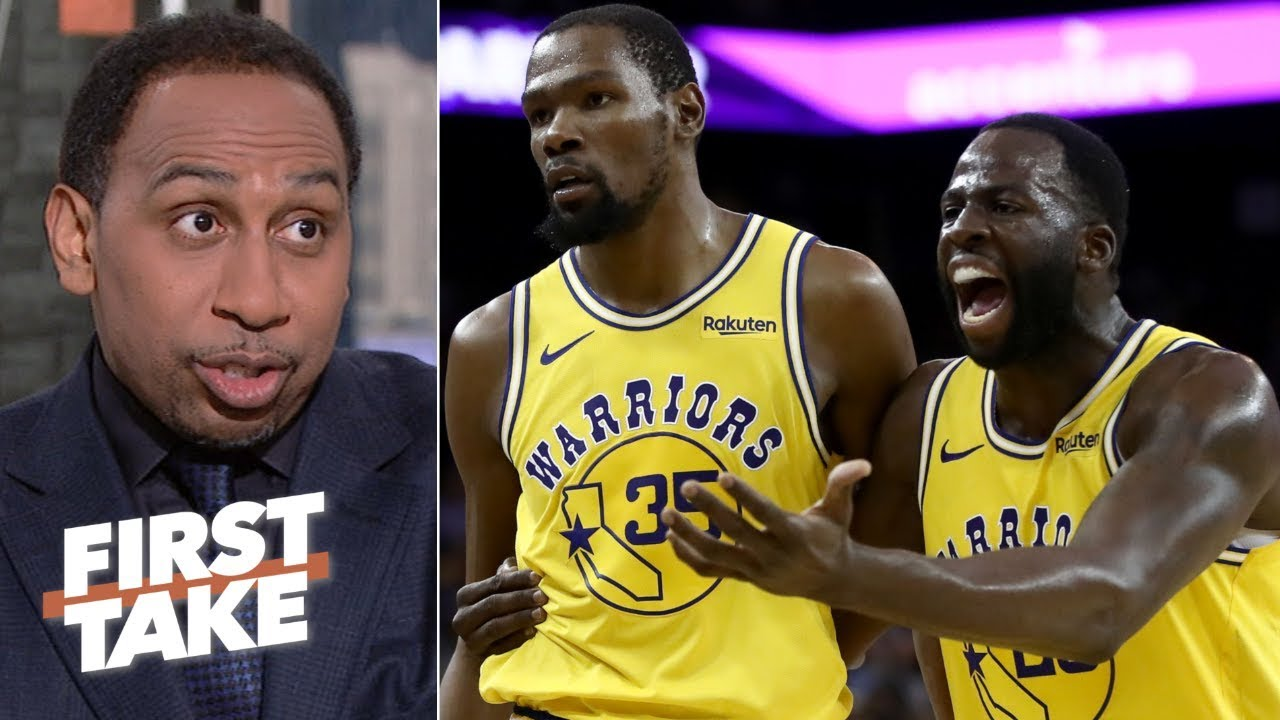 Kevin Durant's next ejection could cost the Warriors – Stephen A. | First Take