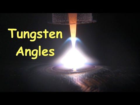 Tig Welding Penetration & Tungsten Electrode Grind Angle