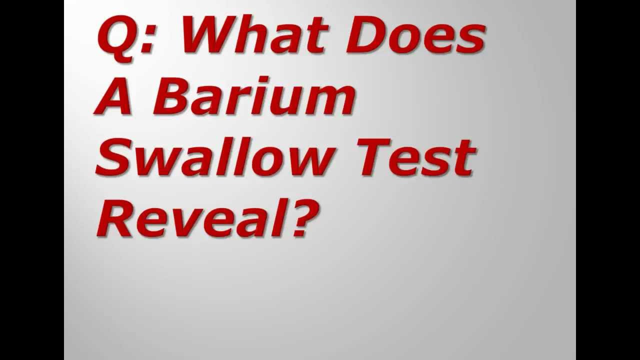 Barium Swallow Broadband High.mov - YouTube