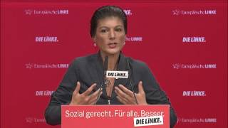 Magdeburger Parteitag: Rede von Sahra Wagenknecht