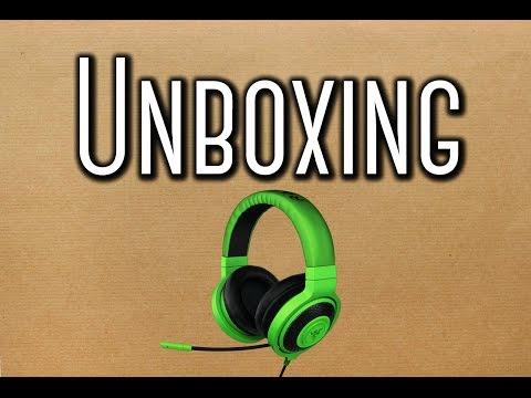 Unboxing Amazon Razer Kraken Pro